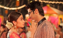 Alia Bhatt and Arjun Kapoor in 2 States